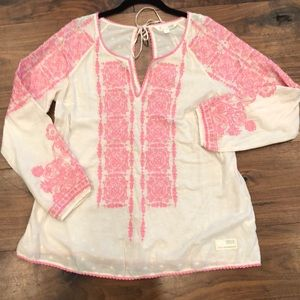 Odd Molly boho embroidered peasant top